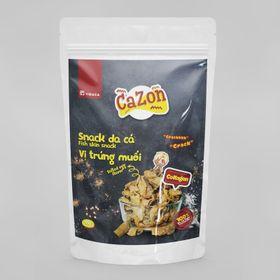 Snack Da Cá Vị Trứng Muối - Cazon giá sỉ