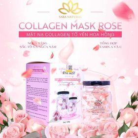 mặt nạ yến tươi collagen sara
