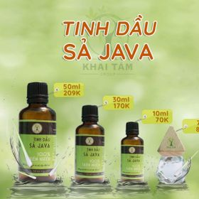 Tinh dầu sả Java giá sỉ
