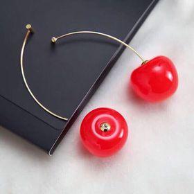 Bông tau cherry siêu cute kèm hộp giá sỉ