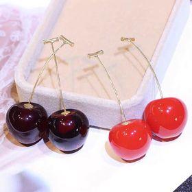 Bông tai cherry siêu cute giá sỉ