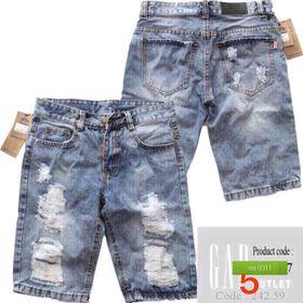 Quần Short Jean Nam 011 thời trang chuyên sỉ jean 2KJean giá sỉ