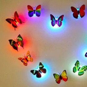 bướm dán tường có đèn led giá sỉ