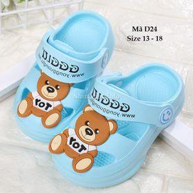 Bán buôn bán sỉ giày dép trẻ em - Dép Sục Cho Bé Gái D24 giá sỉ