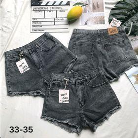 Quần Short Jean Nữ không rách Size Đại giá sỉ