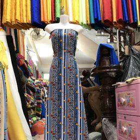 vải xô thun may áo dài giá sỉ