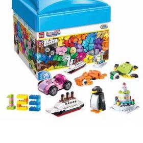 Bộ Lego 460 chi tiết Hộp Nhựa giá sỉ