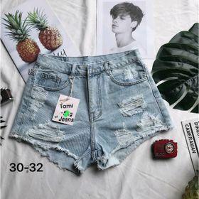 Quần short jean nữ rách thời trang chuyên sỉ jean 2Kjean giá sỉ