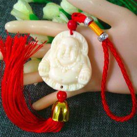 dây treo phong thủy trang trí màu trắng ngà giá sỉ