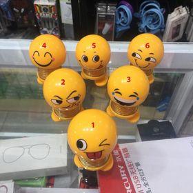Icon mặt cười nhún - Emoji Lò Xo
