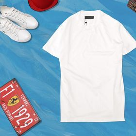 Áo thun trơn trắng giá sỉ