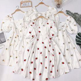 Đầm babydoll thêu giá sỉ