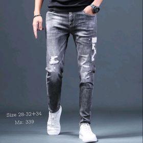 Quần jean nam thời trang cao cấp giá sỉ