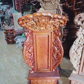 Bài vị thờ gỗ hương cao cấp kích thước cao 50cm ngang 27cm giá sỉ