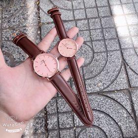 Đồng hồ dây da nam nữ D.W giá sỉ