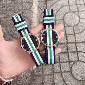 Đồng hồ đôi dây sọc MRUIKA giá sỉ