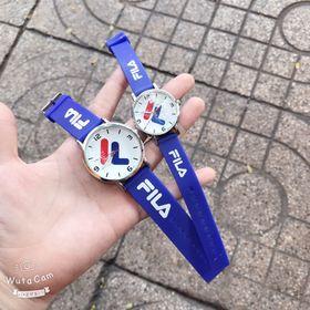 Đồng hồ đôi dây cao su FILA giá sỉ
