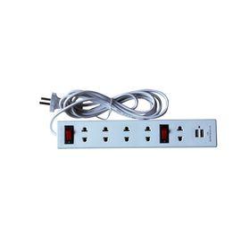 Ồ cắm USB Trường Nhật Quang 5 lỗ 2 chấu loại 3m dây giá sỉ