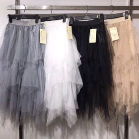 chân váy voan công chúa nhiều tầng giá sỉ