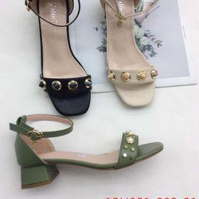 Giày cao gót 3 màu giá sỉ
