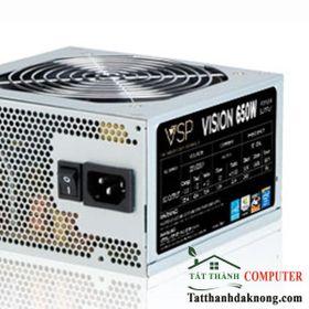 Nguồn VISION- 650W fan 12cm sata -BOX CÓ DÂY NGUỒN giá sỉ