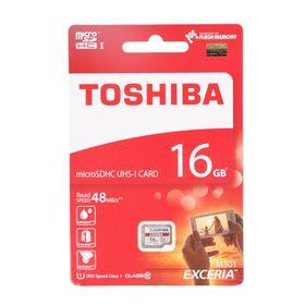 Thẻ nhớ Micro SD 16G TOSHIBA CLASS 10 BOX ĐỎ giá sỉ