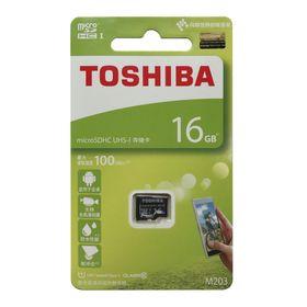 THẺ NHỚ MICRO SD 16G TOSHIBA BOX XANH 100MB giá sỉ