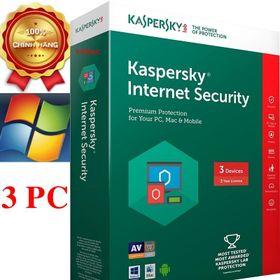 Kapersky Internet 3PC/12T----2019-box----NTS giá sỉ