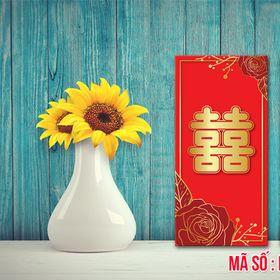 Phong bì lì xì cưới hỏi Mã - 05 giá sỉ
