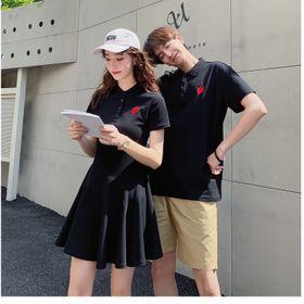 áo cặp đôi in trái tim yêu cực chất giá sỉ
