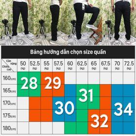 Quần Jeans Nam Đen Tuyền
