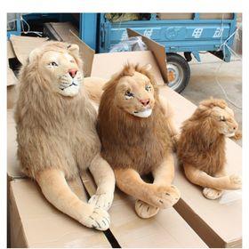 Sư tử nhồi bông 3d giống thật 120cm hàng cam kết như hình bao đổi trả giá sỉ