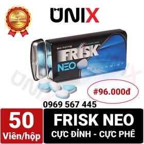 Kẹo Ngậm Bạc Hà Frisk Neo Nhật Bản - Unix House giá sỉ