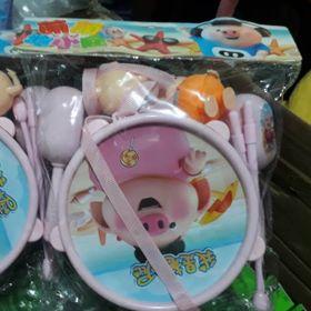 Bộ đồ chơi trẻ em túi trống con heo siêu dễ thương giá sỉ