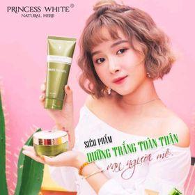 kem dưỡng thể trắng da trà xanh Princess White giá sỉ
