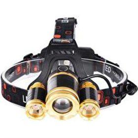 Đèn pin đội đầu 3 bóng xịn - Vàng RJ3000 giá sỉ