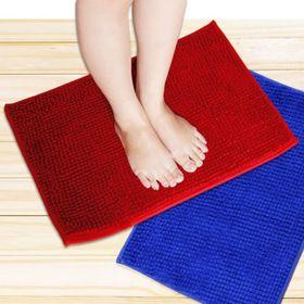 Thảm chùi chân san hô vuông vải len mềm mại giá sỉ