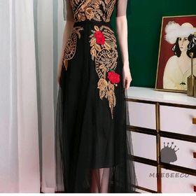 Đầm ren thêu hoa hàng cao cấp giá sỉ