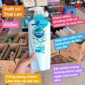 Dầu gội Sunsilk 450ml chuẩn Thái Lan giá sỉ