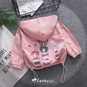 Áo khoác kaki 2 lớp hình 3 con thỏ ngộ nghĩnh Size 6 6-8kg giá sỉ