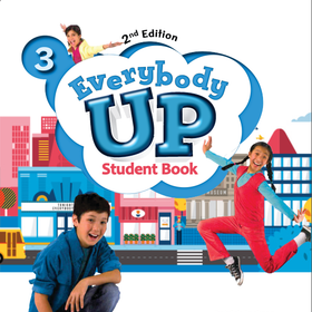 Everybody Up 3 - Student Book Work Book - 2ND giá sỉ