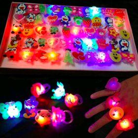 nhẫn đeo tay có đèn có sẵn pin nhẫn giá sỉ