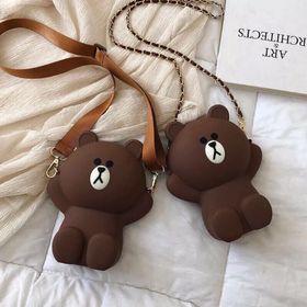 Túi gấu đeo chéo để điện thoại giá sỉ