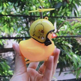 Vịt đồ chơi có đèn phát sáng còi mũ bảo hiểm rời giá sỉ
