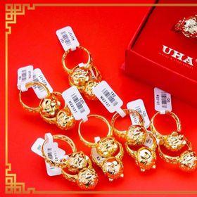 Nhẫn thời trang vàng xi mạ 24k