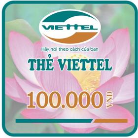 Thẻ Viettel 100K giá sỉ