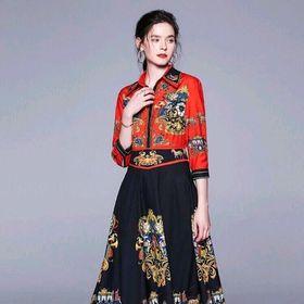 Đầm lụa Quảng Châu cao cấp giá sỉ
