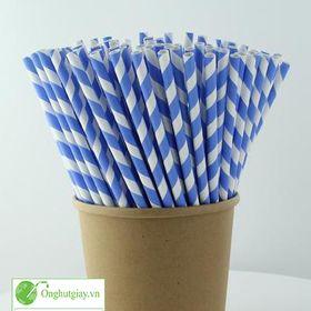 ống hút giấy giá xưởng cho cà phê sinh tố trà sữa giá sỉ