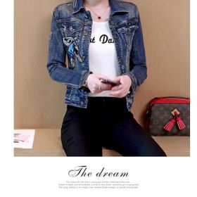 Áo khoác jean nữ cao cấp giá sỉ