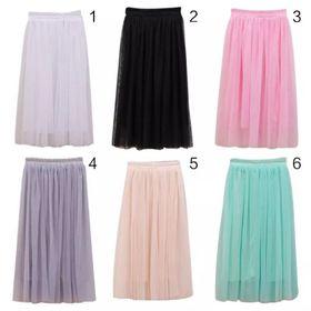 Chân váy tutu lưới 3 lớp dài 65cm